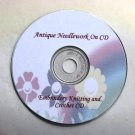 2 Needlecraft Manuals CD- Embroidery, Knitting Crochet