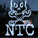NTC Skull and crossbones sticker