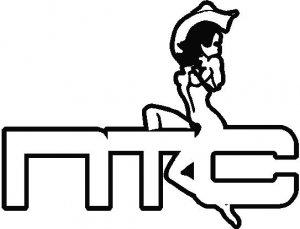 NTC cowgirl sticker