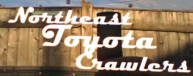 """Northeast Toyota Crawlers"" sticker"