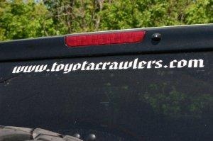 NTC - Web address sticker - blue