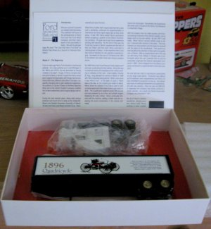 Ford Historical Series #1 Transporter diecast model