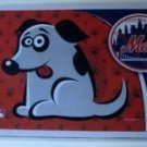 "New York Mets Pet/Dog Bowl Mat 18""X12"""