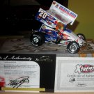 Action Danny Lasoski Outlaws sprint car signed 1/24