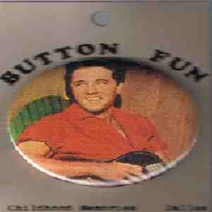 ELVIS PRESLY BUTTON- FREE SHIPPING