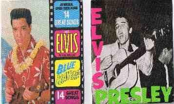 8 ELVIS PRESLEY CHU-POPS ALBUM COVERS- FREE SHIPPING