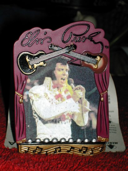 Elvis Presley Musical Ornament- FREE SHIPPING