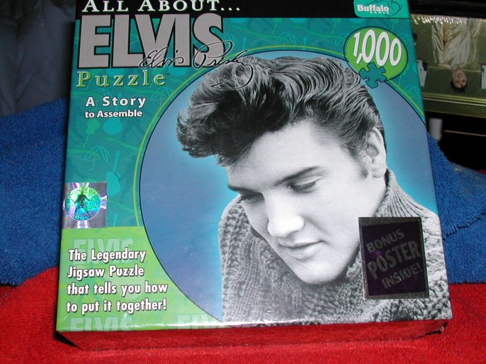 All About ELVIS PRESELY Story Puzzle 1000 + pieces