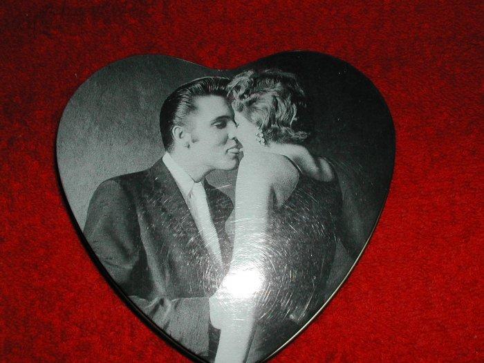 Elvis Heart Tin- FREE SHIPPING