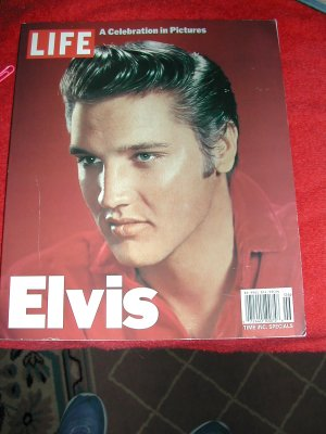 ELVIS PESLEY LIFE MAGAZINE'S 25TH ANNIVERSARY BOOK