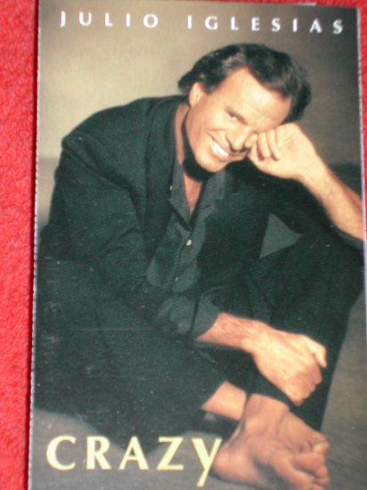 Julio Iglesias Crazy Cassette- Free Shipping