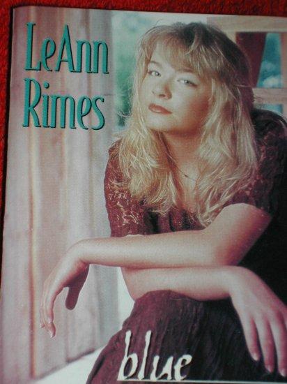 LeeAnn Rimes -Blue cassette- Free Shipping