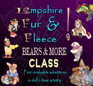 Lampshire FUR and FLEECE COMPLETE CD tutorial BEARS and MORE