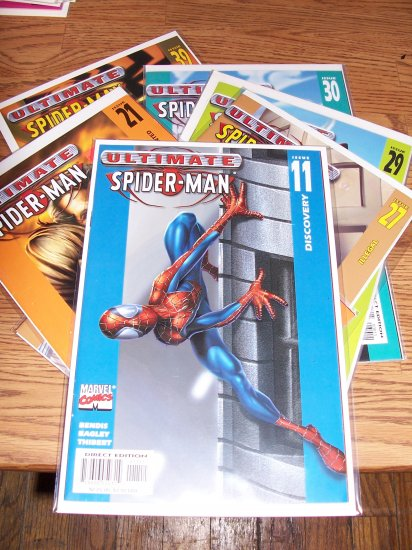 Ultimate Spider-man 6 issue Lot