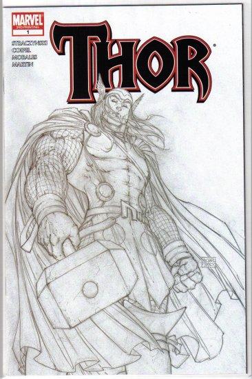 Thor #1 (3rd print sketch variant)