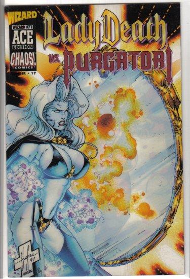 Lady Death vs Purgatori Wizard Ace Edition #17