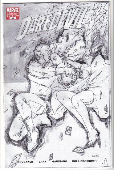 Daredevil #89 sketch variant