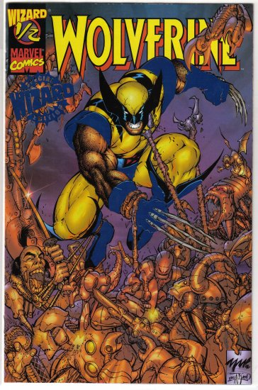 Wolverine 1/2 with COA (blue foil variant)
