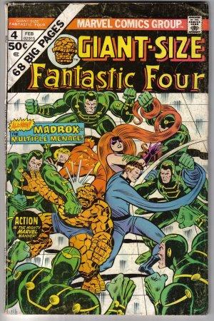 Giant Sized Fantastic Four #4