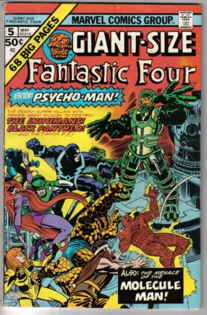 Giant Sized Fantastic Four #5