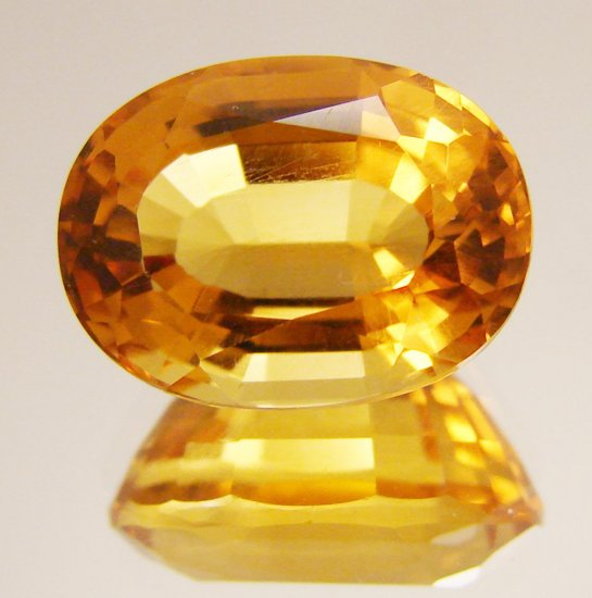 8.82 Ct. VVS Brazilian Citrine