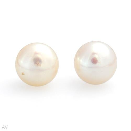 8mm  Freshwater Pearl Earring set