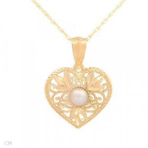 Freshwater Pearl Crafted in Solid 14K Gold MSRP$269.00