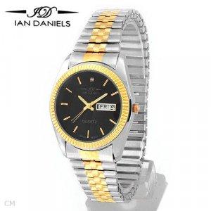 IAN DANIELS Mens two tone  Watch