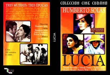 Lucia (sub).Cuban DVDs and movies-Free S&H Worldwide.