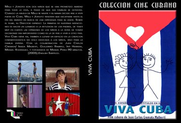 Viva Cuba (sub).Cuban DVDs and movies-Free S&H Worldwide.