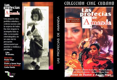 The Profecies of Amanda (sub).Cuban DVDs and movies-Free S&H Worldwide.