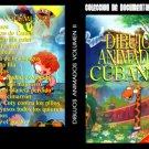Cuban Animated Cartoons- 2 DVDs.Cuban DVDs and movies-Free S&H Worldwide.