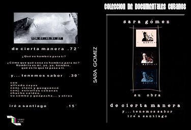 Sara Gomez: Her Work .Cuban DVDs and movies-Free S&H Worldwide.