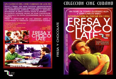 Strawberry and Chocolate (sub).Cuban DVDs and movies Free S&H Worldwide.