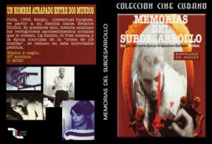 Memories of the Underdevelopment (sub).Cuban DVDs and movies-Free S&H Worldwide.