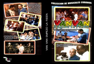 Los Van Van (Let's Party) .Cuban DVDs and movies-Free S&H Worldwide.