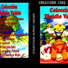 Collection of Elpidio Valdes. Cuban DVDs and movies-Free S&H Worldwide.