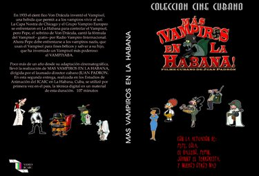 Vampires Part II .Cuban DVDs and movies-Free S&H Worldwide.