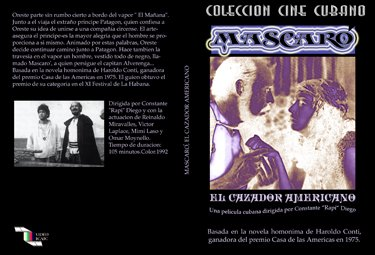Mascaró, The American Hunter-Cuban DVDs and movies-Free S&H Worldwide.