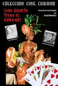 Cuban movie.Que Suerte Tiene el Cubano.Pelicula DVD.Luck of the Cubans.NUEVO.NEW