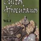 Cuban movie.Cultos Afrocubanos-Vols-1 y2.Doc.Pelicula 2 DVDs.Religion.NUEVO.NEW.