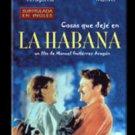 Cuban movie-Cosas que deje en La Habana.subtitled.DVD.Classic.Nuevo.Subtitulado.