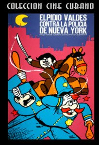 Elpidio vs.Policia de N.Y.NEW.Animado.Cuba.Pelicula DVD