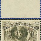 1893 USA USED Scott# 237 – 10c Columbus Presenting Natives