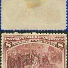 1893 USA USED Scott# 236 – 8c Columbus Restored to Favor