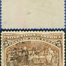 1893 USA USED Scott# 234 – 5c Soliciting Aid from Isabella