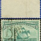 1893 USA USED Scott# 232 – 3c Flagship of Columbus