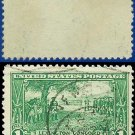 1925 USA USED Scott# 617 – 1c Washington at Cambridge – Lexington-Concord Issue