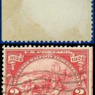 1924 USA USED Scott# 615 – 2c Landing at Fort Orange – Huguenot-Walloon Issue