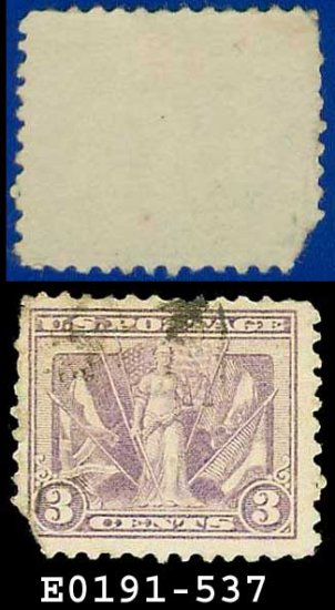 1919 USA USED Scott# 537 � 3c Victory and Flags of Allies � Victory Issue